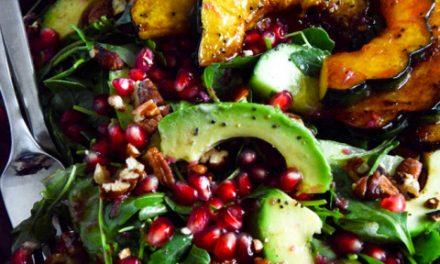Autumn Arugula Salad